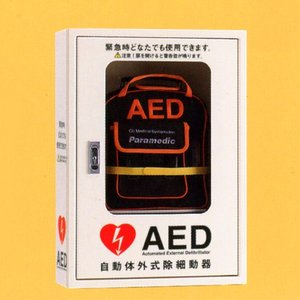 AED収納ボックス 4302-654 【壁掛け・壁面設置タイプ】 suzumori