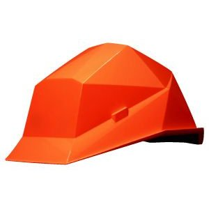 カクメット KAKUMET A-type O1 オレンジ 工事用 作業用 防災用 ヘルメット|suzumori