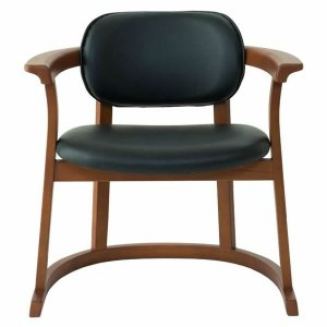 SEEDS かに座PLUS チェア ハイタイプ(椅子)黒|suzumori