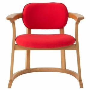 SEEDS かに座PLUS チェア ハイタイプ(椅子)赤|suzumori