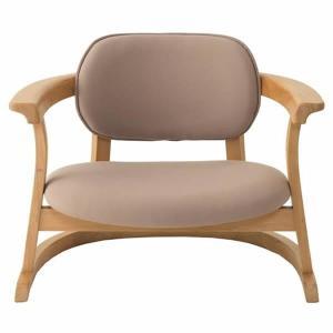 SEEDS かに座PLUS チェア ロータイプ(椅子)ベージュ|suzumori