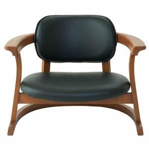 SEEDS かに座PLUS チェア ロータイプ(椅子)黒|suzumori
