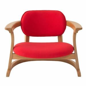 SEEDS かに座PLUS チェア ロータイプ(椅子)赤|suzumori