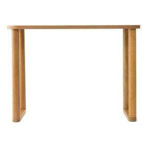 SEEDS パーソナルテーブル ハイタイプ(ナチュラル・ダークブラウン)|suzumori