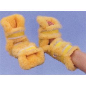 NR尖足防止プロテクター 両足(2ヶ1組)  ナーシングラッグ NR-13 床ずれ予防 ウィズ製|suzumori