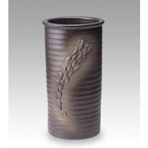 信楽焼陶器 傘立 盛り土傘立て 高さ43cm G5-6605|suzunet-sho
