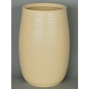 信楽焼陶器 クレイホワイト糸車傘立  高さ41.0cm  KS-2022|suzunet-sho