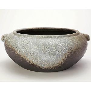 信楽焼陶器 水鉢 滋 (しげる)|suzunet-sho
