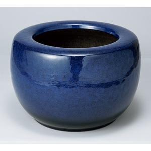 信楽焼焼陶器 生子火鉢 15号 7081-01|suzunet-sho