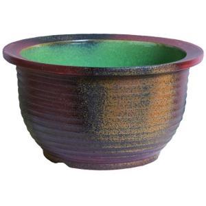 信楽焼陶器 コゲ千段水鉢 13号  SA104-3|suzunet-sho