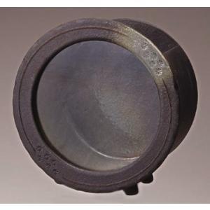 信楽焼焼陶器 黒釉丸水槽(小)|suzunet-sho