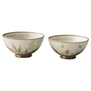 ●商品サイズ・材質:茶碗 大/径12×H6cm・茶碗 小/径11×H5.5cm×各1 陶器   ●箱...