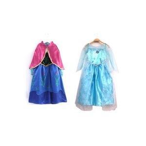 ■アナと雪の女王 姉妹コーディネートドレス 100cm/11...