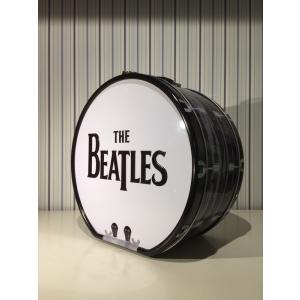 ビートルズ / BEATLES ドラム型バッグ /ブリキ製|suzuyatoy