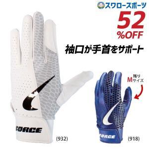 ●商品名:NIKE ナイキ 手袋 フォース エッジ バッティング用 両手用 BA1013 バッティン...