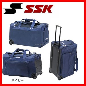 SSK エスエスケイ 遠征バック 消音キャスターバッグ BA7220 ssk 野球用品 スワロースポーツ