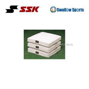 SSK エスエスケイ ジュニア 少年用塁ベース YM10B 設備・備品 ベース ssk 野球用品 スワロースポーツ