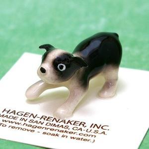 ヘイゲン リネカー (HAGEN RENAKER)ボストン テリア パピー 1760|swam