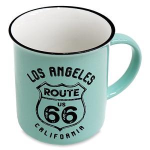 RT 66 (ルート 66)レトロ マグ LA ペパーミント 66-KI-MG-5652PM|swam