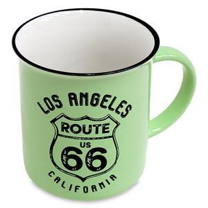 RT 66 (ルート 66)レトロ マグ LA グリーン 66-KI-MG-5652GR|swam