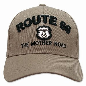 RT 66 (ルート 66) キャップ MOTHER ROAD EMBLEM カーキ 66-AW-CP001KH swam