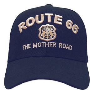 RT 66 (ルート 66) キャップ MOTHER ROAD EMBLEM ネイビー 66-AW-CP001NV swam