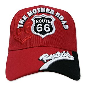 RT 66 (ルート 66) キャップ MOTHER ROAD レッド 66-AW-CP004RD swam