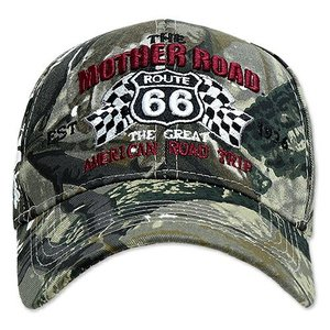 RT 66 (ルート 66) キャップ MOTHER ROAD RACING カモ 66-AW-CP008CAMO swam