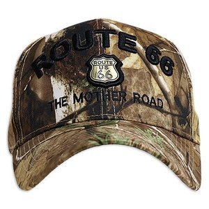 RT 66 (ルート 66) キャップ MOTHER ROAD EMBLEM カモ 66-AW-CP001CAMO swam