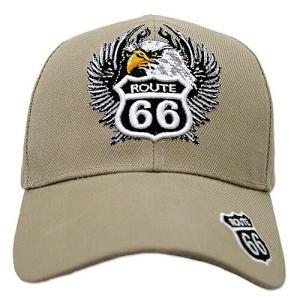 RT 66 (ルート 66) キャップ EAGLE カーキ 66-AW-CP002KH swam