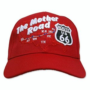 RT 66 (ルート 66) キャップ MOTHER ROAD MAP レッド 66-AW-CP007RE swam