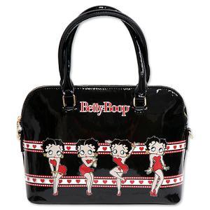 ベティブープ (Betty Boop)ハンド バッグ ブラック BB-SA-HB-Z3349MUB-BK|swam