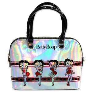 ベティブープ (Betty Boop)ハンド バッグ シルバー(ホログラム) BB-SA-HB-Z3349MUB-SI|swam