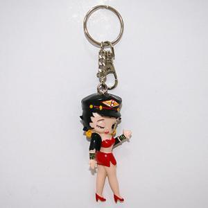 ベティブープ (Betty Boop) 3D キーチェーン KR15|swam