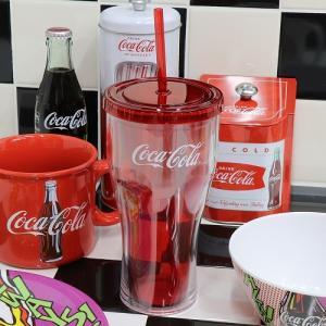 Coke (コカ・コーラ) プラスチック タンブラー w/ストロー 20oz. Coca-Cola CC-GS-PT-127087 swam