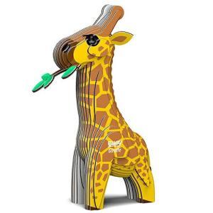 3D パズル EUGY Giraffe(キリン) DL-EG-009|swam