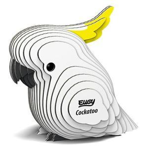 3D パズル EUGY Cockatoo(オウム) DL-EG-028|swam