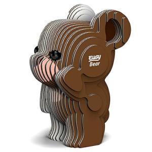 3D パズル EUGY Bear(ベア) DL-EG-039|swam