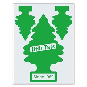 リトル・ツリー (Little Tree) カットアウト ステッカー Set-1 グリーン LT-BUD-COS-1G swam