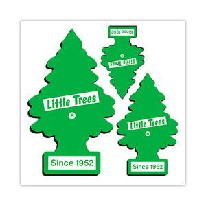 リトル・ツリー (Little Tree) ステッカー グリーン シンボル 3pc セット LT-RB-ST-002 swam