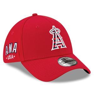 キャップ エンジェルス Men's Los Angeles Angels New Era Red 4th of July 39THIRTY Flex Hat レッド MLB-CP-39THIRTY-RD swam