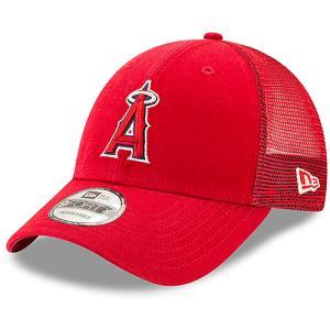 キャップ エンジェルス Men's Los Angeles Angels New Era Red Trucker 9FORTY Adjustable Snapback Hat レッド MLB-CP-9FORTY-RD swam