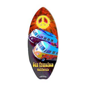 ミニ サーフ ボード VW Peace Vans MSB018 swam