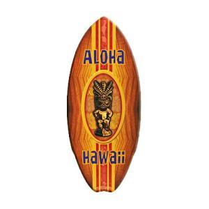 ミニ サーフ ボード Aloha Tiki MSB069 swam