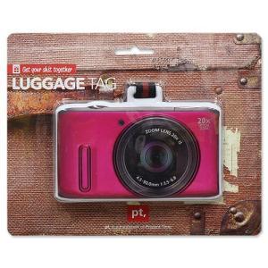 ラゲッジ タグ ピンク カメラ PTG-0061|swam