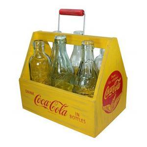 Coke (コカ・コーラ) 6pc フルサイズ ボトル 6PACK FULL SIZE BOTTLE 9030-01 swam