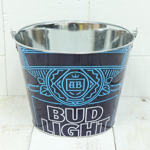 バドライト (Bud Light) ティンバケツ TB-BW-08|swam