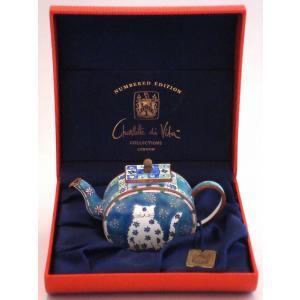 ロンドン・コレクション ミニチュアティーポット ケース入り美品|swan-antiques