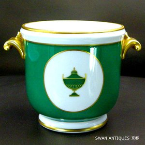 リチャードジノリRichard Ginori インペログリーン  ポット 未使用 レア|swan-antiques