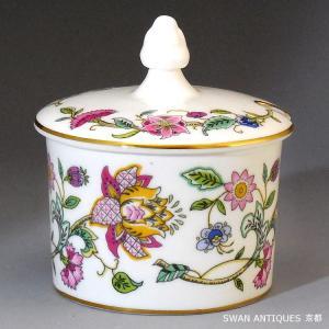 英国製 ミントン Minton  ハドンホール 金彩 シュガーポット 廃版品|swan-antiques